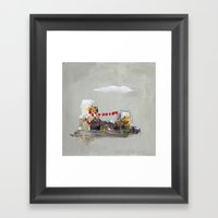 Rahab Framed Art Print