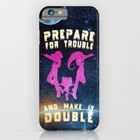 iPhone & iPod Case featuring Team Rocket Galaxy (Pokemon) by gercax