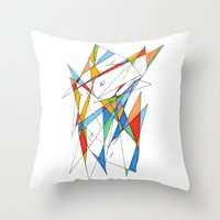 love is simple Throw Pillow