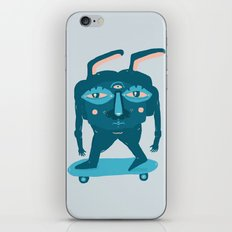 Skater Bunny iPhone & iPod Skin