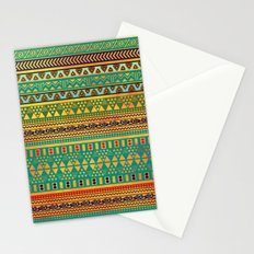 Inspired Aztec Pattern 3 Stationery Cards