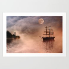 Early Light Art Print