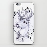 Deer In Dress Code  iPhone & iPod Skin
