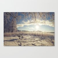 Sit and chill Canvas Print