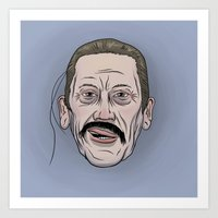 Machete Don't Text Art Print