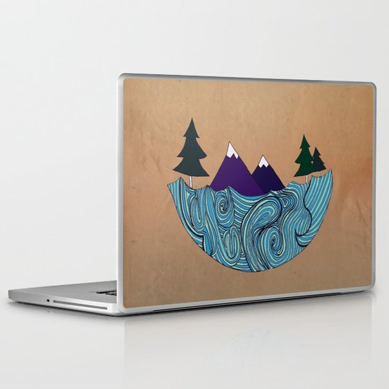 Pacific NorthFresh Laptop & iPad Skin