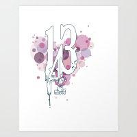 143 Art Print