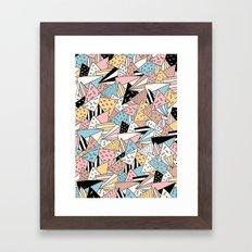 PIZZA !! Framed Art Print