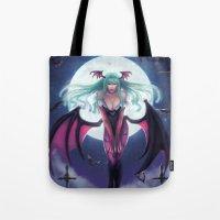 Morrigan - Darkstalkers Tote Bag