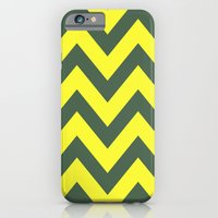 iPhone & iPod Case featuring SIC 'EM CHEVRON by natalie sales