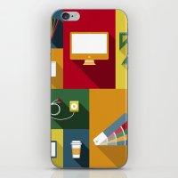 Designer Flat Tools iPhone & iPod Skin