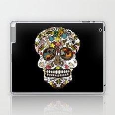 El dia de los muertos (Skull) Laptop & iPad Skin