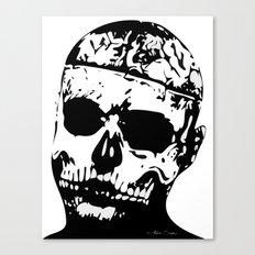 Rick Genest (Zombie Boy) Canvas Print