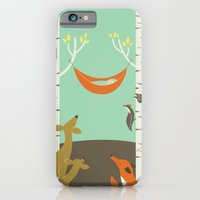 iPhone & iPod Case featuring Woodland Baby by emilydove