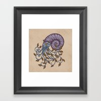 Nautilus Framed Art Print