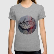 Bird's Eye Womens Fitted Tee Athletic Grey SMALL