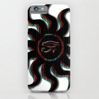 Red Egyptian Sun iPhone 6 Slim Case