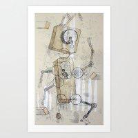 No. 17 Art Print