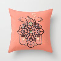 Vapor Throw Pillow