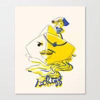 Schiff Canvas Print