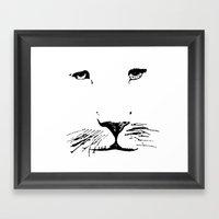 Aslan Framed Art Print