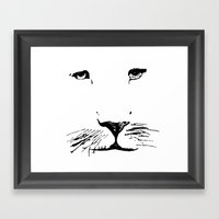 Aslan Framed Art Print