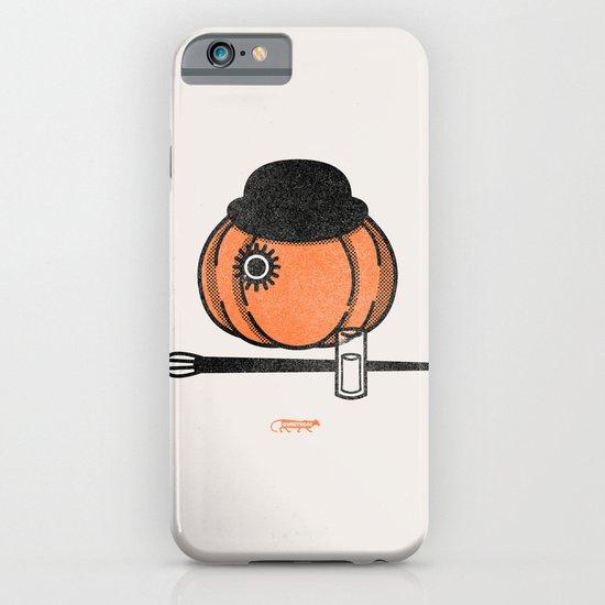 A Clockwok Pumpkin iPhone & iPod Case