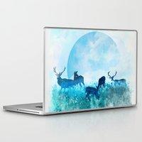 twilight Laptop & iPad Skins featuring Twilight by Lynette Sherrard Illustration and Design