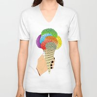 ICE CRAIN Unisex V-Neck