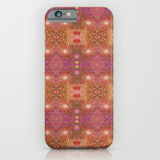 Merry christmas lights pattern iPhone 6 Slim Case