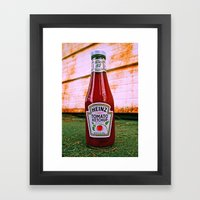Iconic glass Framed Art Print