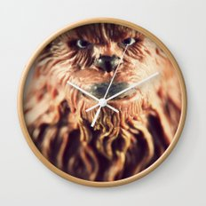 Not Wise To Upset A Wookie Wall Clock