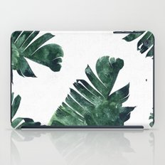Banana Leaf Watercolor Pattern #society6 iPad Case