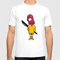Bic Head Mens Fitted Tee White SMALL