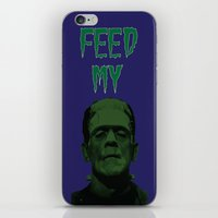 Feed My Frankenstein iPhone & iPod Skin
