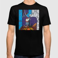 IT'S EVEN WORSE than WE THOUGHT SUPERWORM Mens Fitted Tee Black SMALL