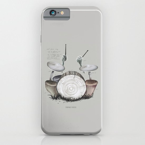 Mushroom drums iPhone & iPod Case
