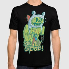 Zombie Finn SMALL Mens Fitted Tee Black