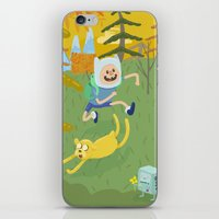 Adventure Friends iPhone & iPod Skin
