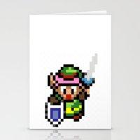 Legend of Zelda - Link Stationery Cards