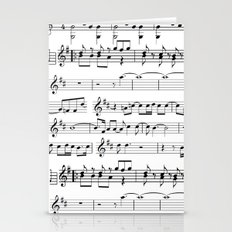 Musical Stationery Cards
