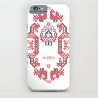 iPhone & iPod Case featuring Embroidery  by Natalia Ogneva