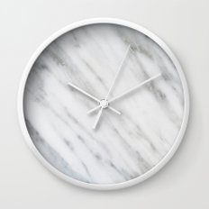 Carrara Italian Marble Wall Clock