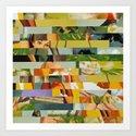 Don't Entirely Trust the Gardener (Provenance Series) Art Print