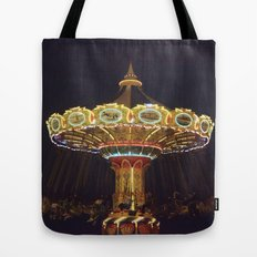 Night Spin Tote Bag