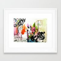 Vivid. Framed Art Print