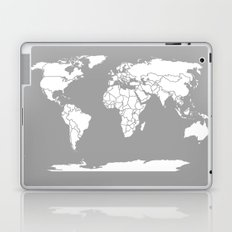 A Political Map of the World Laptop & iPad Skin