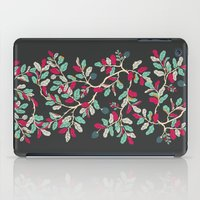 Minty Pinky Branches iPad Case