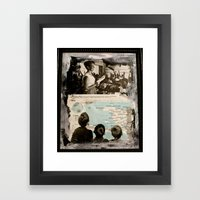 We Teach Framed Art Print