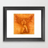 Angel Rising Framed Art Print